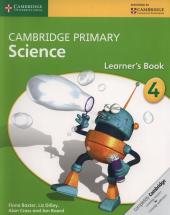 Cambridge Primary Science 4 Learners Book - фото обкладинки книги