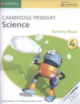 Cambridge Primary Science Stage 4 Activity Book - фото книги