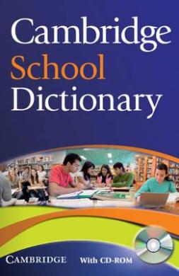 Cambridge School Dictionary PB + CD-ROM (словник + аудіодиск) - фото книги