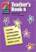 Підручник Cambridge Storybooks Teacher's Book 4