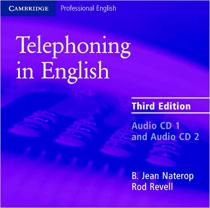 Аудіодиск Cambridge Telephoning in English 3rd Edition Audio CD