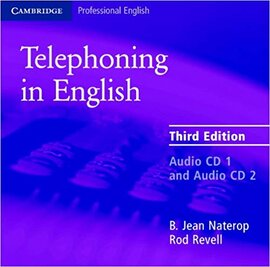 Аудіодиск Cambridge Telephoning in English 3rd Edition Audio CD