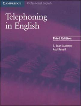 Cambridge Telephoning in English 3rd Edition Book - фото книги