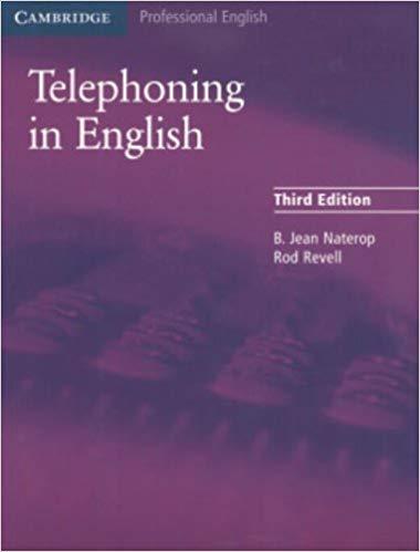 Підручник Cambridge Telephoning in English 3rd Edition Book