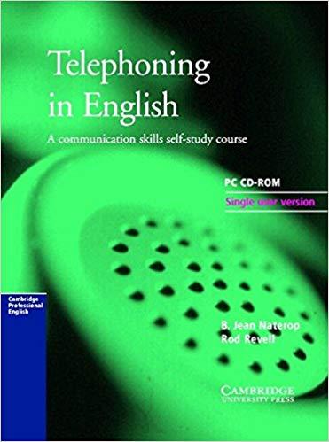 Аудіодиск Cambridge Telephoning in English 3rd Edition CD-ROM for Windows