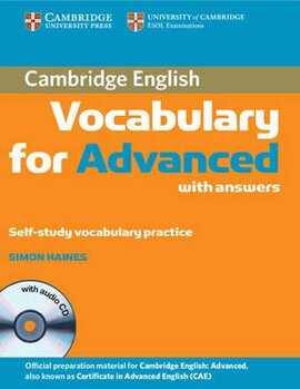 Cambridge Vocabulary for Advanced with Answers and Audio CD (словник) - фото книги