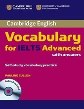 Cambridge Vocabulary for IELTS Advanced Band 6.5+ with Answers and Audio CD - фото обкладинки книги
