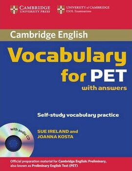 Cambridge Vocabulary for PET. Student Book with Answers and Audio CD - фото книги