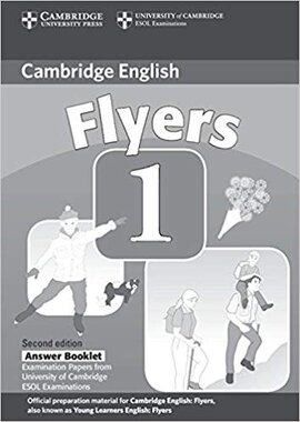 Cambridge YLE Tests 1 Flyers Answer Booklet - фото книги