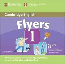 Підручник Cambridge YLE Tests 1 Flyers Audio CD