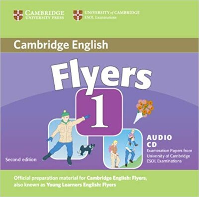 Аудіодиск Cambridge YLE Tests 1 Flyers Audio CD