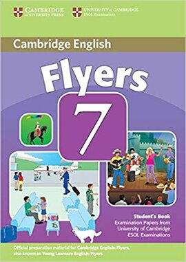 Cambridge YLE Tests 7 Flyers SB - фото книги