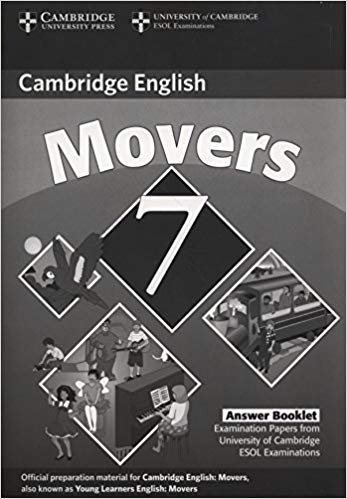 Посібник Cambridge YLE Tests 7 Movers Answer Booklet