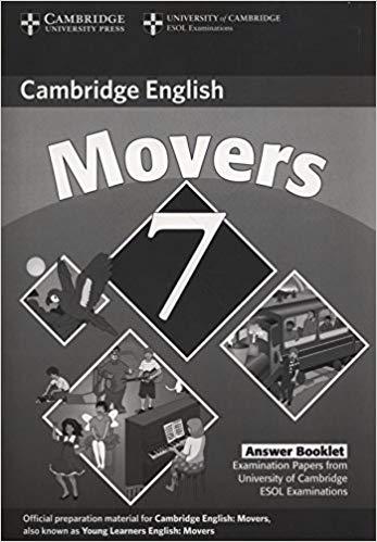 Посібник Cambridge YLE Tests 7 Movers Answer Booklet