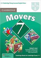 Cambridge YLE Tests 7 Movers SB - фото обкладинки книги