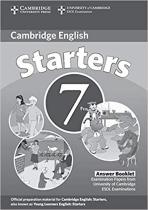 Книга для вчителя Cambridge YLE Tests 7 Starters Answer Booklet