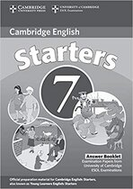 Cambridge YLE Tests 7 Starters Answer Booklet
