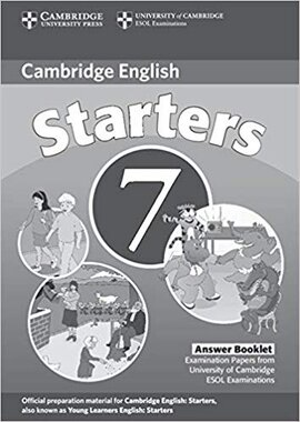 Cambridge YLE Tests 7 Starters Answer Booklet - фото книги