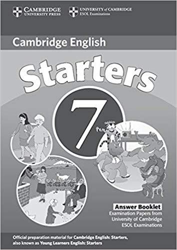 Посібник Cambridge YLE Tests 7 Starters Answer Booklet