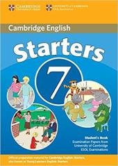 Cambridge YLE Tests 7 Starters SB - фото обкладинки книги