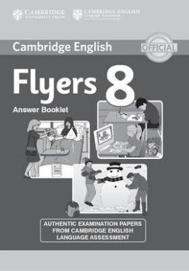 Cambridge YLE Tests 8 Flyers. Answer Booklet (відповіді до підручника) - фото книги