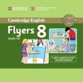 Cambridge YLE Tests 8 Flyers. Audio CD - фото обкладинки книги