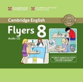 Cambridge YLE Tests 8 Flyers. Audio CD - фото книги