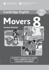 Cambridge YLE Tests 8 Movers. Answer Booklet (відповіді до підручника) - фото обкладинки книги
