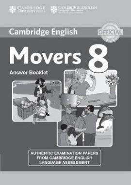 Cambridge YLE Tests 8 Movers. Answer Booklet (відповіді до підручника) - фото книги