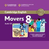 Cambridge YLE Tests 8 Movers. Audio CD - фото обкладинки книги