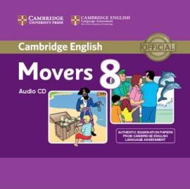 Cambridge YLE Tests 8 Movers. Audio CD - фото книги