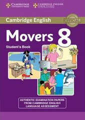 Cambridge YLE Tests 8 Movers. Student's Book - фото обкладинки книги