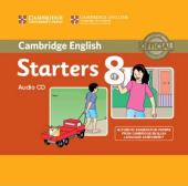 Cambridge YLE Tests 8 Starters. Audio CD - фото обкладинки книги