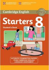 Cambridge YLE Tests 8 Starters. Student's Book - фото обкладинки книги