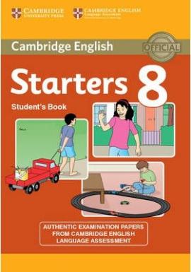 Cambridge YLE Tests 8 Starters. Student's Book - фото книги