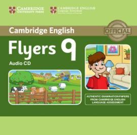 Cambridge YLE Tests 9 Flyers. Audio CD - фото книги