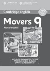Cambridge YLE Tests 9 Movers. Answer Booklet (відповіді до підручника) - фото обкладинки книги