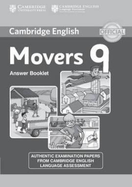 Cambridge YLE Tests 9 Movers. Answer Booklet (відповіді до підручника) - фото книги