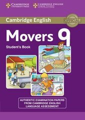 Cambridge YLE Tests 9 Movers. Student's Book - фото обкладинки книги