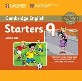 Cambridge YLE Tests 9 Starters. Audio CD - фото книги