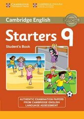Cambridge YLE Tests 9 Starters. Student's Book - фото обкладинки книги