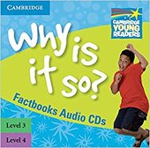 Cambridge Young Readers: Why Is It So? Levels 3-4 Factbook Audio CDs (2) - фото обкладинки книги
