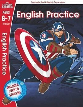 Captain America. English Practice. Ages 6-7 - фото книги