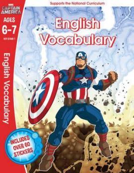 Captain America: English Vocabulary, Ages 6-7 - фото книги
