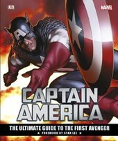 Captain America The Ultimate Guide to the First Avenger - фото обкладинки книги