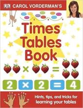 Carol Vorderman's Times Tables Book - фото обкладинки книги