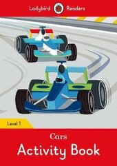 Cars Activity Book - Ladybird Readers Level 1 - фото обкладинки книги