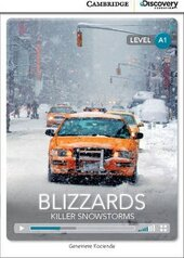 CDIR Level A1. Blizzards: Killer Snowstorm (Book with Online Access) - фото обкладинки книги