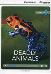 CDIR Level A1+. Deadly Animals (Book with Online Access) - фото обкладинки книги