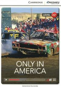 CDIR Level A2+. Only in America (Book with Online Access) - фото книги